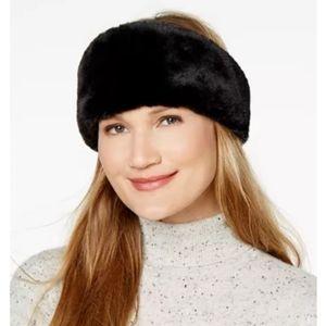 BCBGeneration Soft Fun Faux Fur Headwrap.